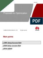 Proposals on Optimization