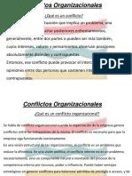 Conflicto Organizacional