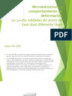 Microestructura y Comportamiento de Deformación