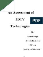 23618894 3d Tv Technology Seminar