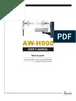 AW-H900 User Manual