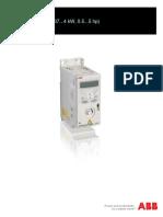 ABB ACS150 Drives User Manual