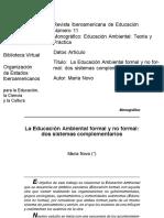 Maria Novo - La EA formal y no formal - dos sistemas complementarios.pdf