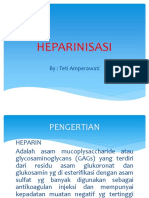 Heparinisasi Ppt Teti Hd