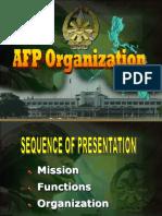 AFP Organization Briefing