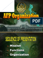 AFP Organization Briefing