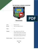 Flavonoides- Bautista, Chinchay, Izaguirre, Panduro