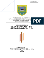 Administrasi Ujian Sekolah SD.doc