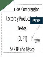 CLPT Manual 5º a 8º Basico