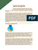 Desafíos Para La Pyme