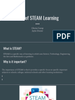 rise of steam learning