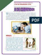 Informatica - Historia Dle Computador