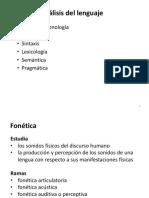 Linguistic Concepts