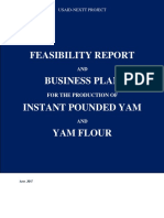 Business Plan for Yam Flour