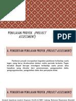 PENILAIAN PROYEK (Project Assessment)