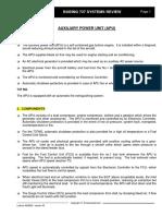 B737-APU Systems Summary