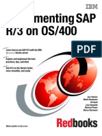 Implementing SAP on OS400