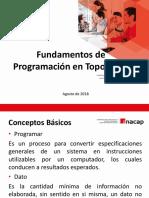 Fundamentos de Programación en Topografía