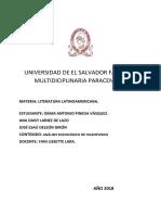 Análisis Sociuológico de Huasipungo