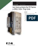 Manual Rele Rg 310