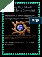 earth day flyer edu
