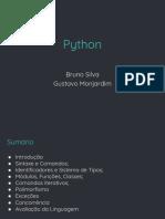 Teaching Lp 20172 Seminario Python