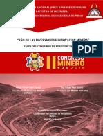 Bases Resistencia y Destresa Minera