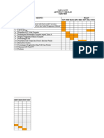 Carta Gantt Makmal Komputer 2015