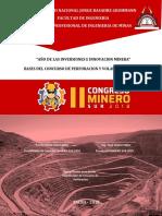 Bases de Concurso de Perfo. y Voladura - Msur 2018