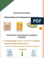 Formulacion de Compuestos Inorganicos