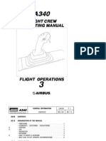 Airbus A340 Flight Crew Operating Manual Volume3 - Flight Operations