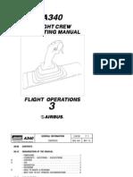Airbus A340 Flight Crew Operating Manual Volume3 - Flight Operations