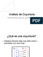 Metodología Para Analisis de Coyuntura - SERAPAZ - 29 p.