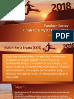 147168_Teknik Survey KKN 2018_TRY