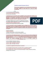 Cuestiones Recientes de Examen Tema 11