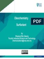 OLEOCHEMISTRY_Chapter 8- Surfactants