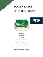 Cover Sinusitis Dentogen