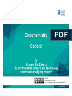 Oleochemistry_chapter 9- Colloids