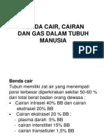 Benda Cair, Cairan Dan Gas Dalam Tbh
