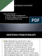 (Nim 041-043) Ppt Psikoterapi Suportif Klp 1