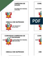 Comunidad Campesina de Huascahura