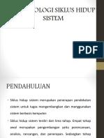 Metodologi Siklus Hidup Sistem 1