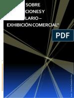 Taller Sobre Preposiciones y Vocabulario Exhibición Comercial