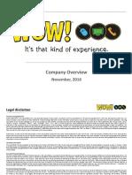 WOW Investor Presentation Nov 2016