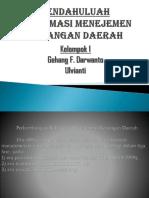 Reformasi Menejemen Keuangan Daerah
