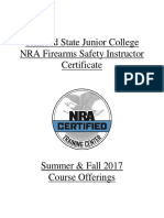 2015 Nra Safety Instructor