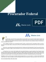 FASE 1 Extensivo Completo Procurador Federal