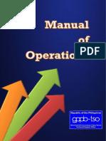 GPPB Manual of Operations