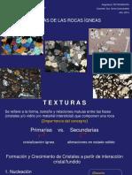 Textura Rocas Igneas -Tx