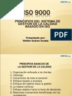 ISO 9000 - Principios